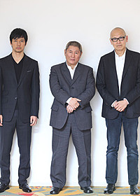 「女が眠る時」に主演したビートたけし、 西島秀俊、ウェイン・ワン監督「女が眠る時」