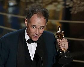 助演男優賞を受賞したマーク・ライランス「ブリッジ・オブ・スパイ」