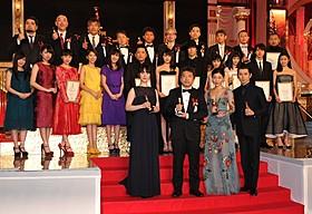 第39回日本アカデミー賞受賞者がずらり「海街diary」