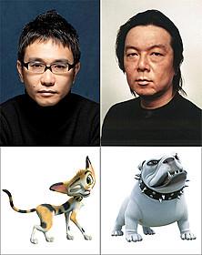 「ルドルフとイッパイアッテナ」に声優出演する 八嶋智人と古田新太「ルドルフとイッパイアッテナ」