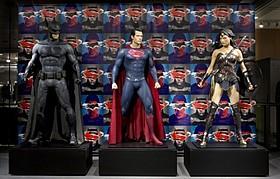 公開に先駆けてお披露目「バットマン vs スーパーマン ジャスティスの誕生」