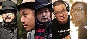 (左から)塩田明彦、白石和彌、園子温、中田秀夫、行定勲「黄泉がえり」