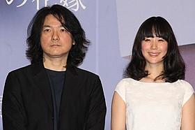 舞台挨拶に立った岩井俊二監督と黒木華「リップヴァンウィンクルの花嫁」
