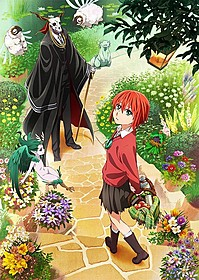 アニメ「魔法使いの嫁」ビジュアル「魔法使いの嫁 星待つひと 前篇」