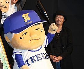 ゆるキャラ「つたはーん」とトータル藤田「蔦監督 高校野球を変えた男の真実」