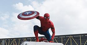 「シビル・ウォー キャプテン・アメリカ」 に登場したスパイダーマン「スパイダーマン」