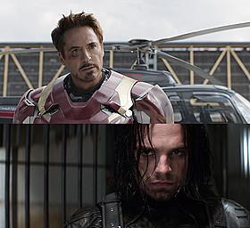 チームアイアンマンを圧倒するバッキー・バーンズ「シビル・ウォー キャプテン・アメリカ」