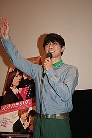 トークショーを盛り上げた吉沢亮「オオカミ少女と黒王子」