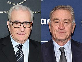 マーティン・スコセッシ監督とロバート・デ・ニーロ「ギャング・オブ・ニューヨーク」