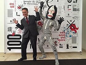 ルス・ブーヘル駐日スイス大使とダダ