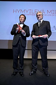深田晃司監督と マイケル・デュドク・ドゥ・ビット監督「淵に立つ」