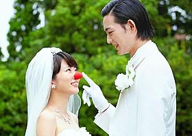 「泣き虫ピエロの結婚式」の一場面「泣き虫ピエロの結婚式」