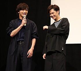 掛け合いを披露した千葉雄大と横浜流星「全員、片想い」