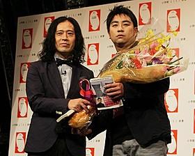 又吉直樹と羽田圭介氏に扮したレイザーラモンRG「火花」
