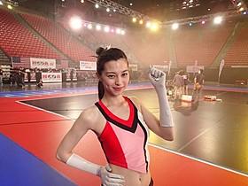 「チア☆ダン」で抜群のプロポーションを 生かしたダンスを披露する中条あやみ「チア☆ダン 女子高生がチアダンスで全米制覇しちゃったホントの話」