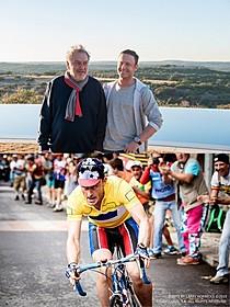 スティーブン・フリアーズ監督 とベン・フォスター(写真上)「疑惑のチャンピオン」