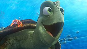アオウミガメのクラッシュが再登場!「ファインディング・ドリー」