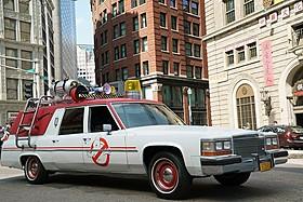 ゴーストバスターズ車を呼べちゃう!「ゴーストバスターズ」
