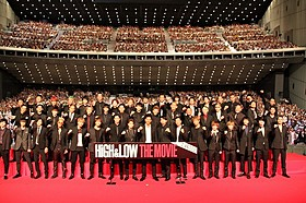 EXILE TRIBEがずらり!「HiGH&LOW THE MOVIE」