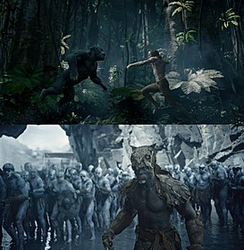 ジャングルを舞台に躍動!「ターザン」
