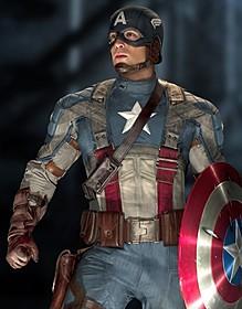 「シビル・ウォー キャプテン・アメリカ」の一場面