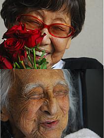 二人の命の輝きと生き方を見つめたドキュメンタリー「笑う101歳×2 笹本恒子 むのたけじ」