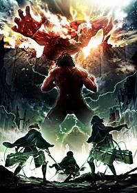 17年春放送が決まった 「進撃の巨人 Season 2」ティザービジュアル「進撃の巨人 ATTACK ON TITAN」