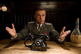 ハンス・ランダ大佐を演じたクリストフ・ワルツ「イングロリアス・バスターズ」