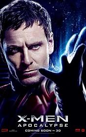 苦悩の表情を見せる キャラクターポスターも解禁「X-MEN:アポカリプス」
