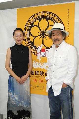 河瀬直美監督と藤竜也