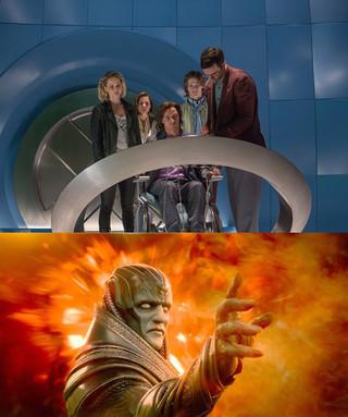 X-MENたち(上)と最古かつ 最強のミュータント・アポカリプス(下)「X-MEN:アポカリプス」
