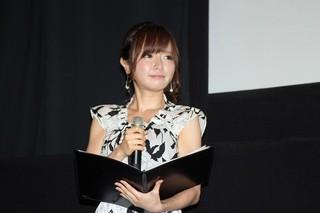 声優達からの質問返しを受けた テレビ東京の紺野あさ美アナ「劇場版アイカツ!」