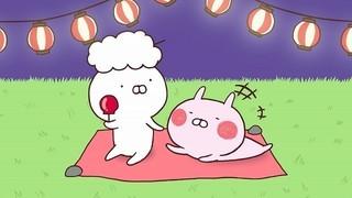 LINE LIVEで配信されているアニメ「うさまる」