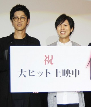 声優の神谷浩史と櫻井孝宏「傷物語III 冷血篇」
