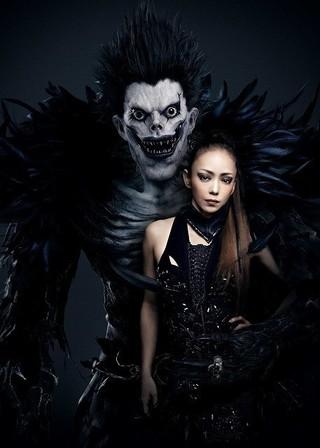 安室奈美恵×死神リュークの コラボビジュアルもお披露目「デスノート」