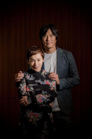 「後妻業の女」で共演した 大竹しのぶと豊川悦司「後妻業の女」