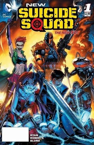 DCコミックスの表紙でも存在感を 放つデスストローク (コミック「スーサイド・スクワッド」から)「バットマン」