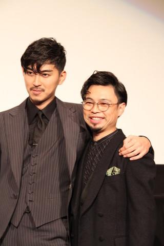 仲の良さをうかがわせた 松田翔太と浜野謙太「ディアスポリス DIRTY YELLOW BOYS」