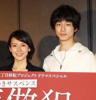 初共演する中谷美紀と坂口健太郎「模倣犯」