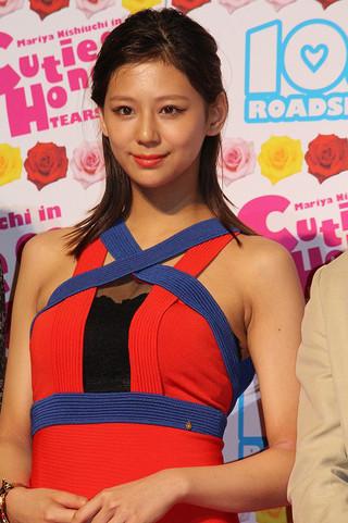 如月瞳役で映画初主演を飾った西内まりや「CUTIE HONEY TEARS」