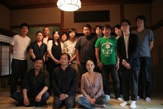 トークを繰り広げた河瀬直美監督、 深田晃司監督、別所哲也ら「淵に立つ」