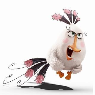 普段は温厚な鳥・マチルダがひょう変!「アングリーバード」