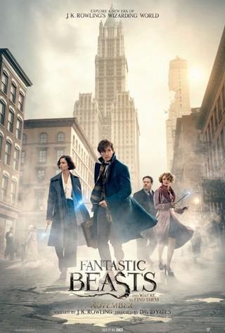 海外版の最新ポスター「ファンタスティック・ビーストと魔法使いの旅」