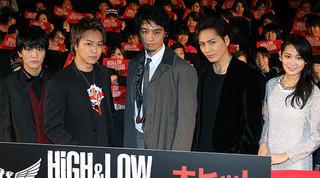 息ぴったりのTAKAHIRO、登坂広臣、斎藤工ら「HiGH&LOW THE RED RAIN」