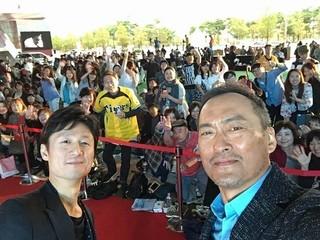 """渡辺謙、釜山国際映画祭でも""""自撮り""""「怒り」"""