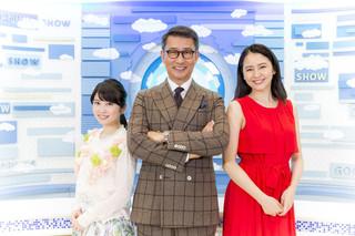 インタビューに応じた(左から) 志田未来、中井貴一、長澤まさみ「グッドモーニングショー」