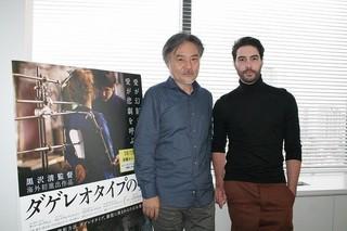 黒沢清監督とタハール・ラヒム「聖闘士星矢」