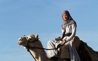 「アラビアの女王 愛と宿命の日々」の一場面「アラビアの女王 愛と宿命の日々」