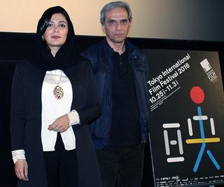 ティーチインに参加したモーセン・ アブドルワハブ監督とエルハム・コルダ「誕生のゆくえ」