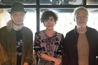 (左から)佐野和宏、寺島しのぶ、福間健二監督「秋の理由」